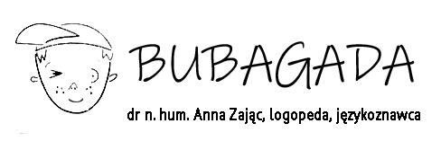 Bubagada.pl | Anna Zając Logopeda, Językoznawca